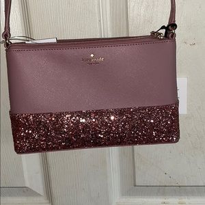 🥰Kate spade pink glitter cross body🥰